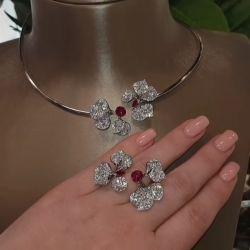 Flower Jewellery Set
