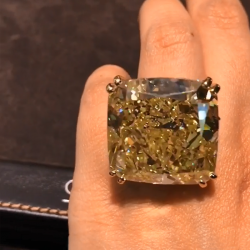 Cushion Engagement Ring
