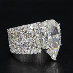 Multi Row Diamond Rings