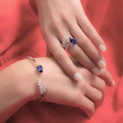 Sapphire Wedding Sets