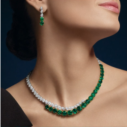 Bridal Jewelry Necklace Earring Sets
