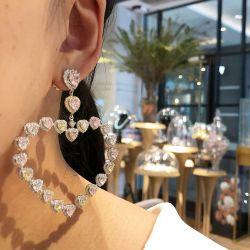 Love Hearts Hoop Earrings